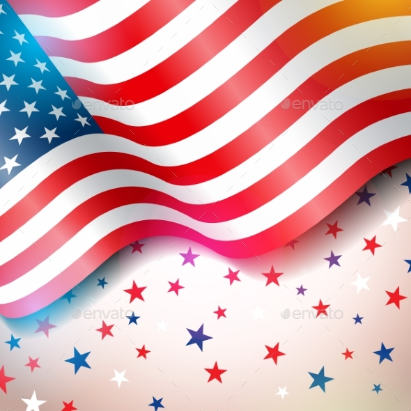 Independence Day of the USA Vector Illustration - Miscellaneous Seasons/Holidays