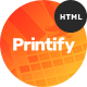 Printify - Attention Grabbing Printing Company HTML Template - ThemeForest Item for Sale