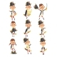 Napoleon Bonaparte Cartoon Character - GraphicRiver Item for Sale
