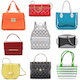 Vector Fashion Female Handbags - GraphicRiver Item for Sale