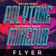 Polytone Mixedub - Flyer Template