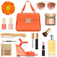 Vector Orange Female Accessories