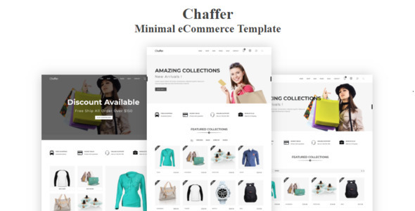 Chaffer - Minimal eCommerce Template - Shopping Retail