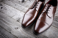 Classic formal brown leather shoes - PhotoDune Item for Sale