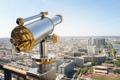 Tourist telescope on Eiffel Tower Paris - PhotoDune Item for Sale