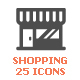 Shopping & Commerce Filled Icon - GraphicRiver Item for Sale