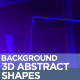 3D Abstract Shapes Backgrounds - VideoHive Item for Sale