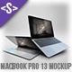 MacBook Pro 13 Mockup