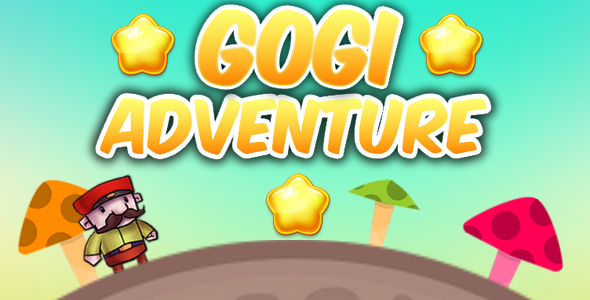 Gogi adventure - html5 game, construct 2            Nulled