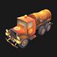 Stylized Sewer Truck