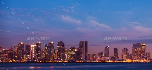City of San Diego California - Stock Photo - Images