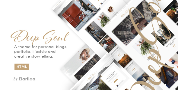 Deep Soul - Responsive HTML Blog and Shop Theme - Creative Site Templates