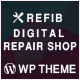 Refib - Digital Repair Service WordPress Theme - ThemeForest Item for Sale