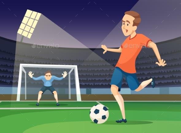 Background Soccer Sport Illustration - Miscellaneous Vectors