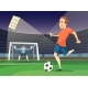 Background Soccer Sport Illustration