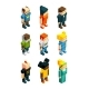 3D Low Poly People - GraphicRiver Item for Sale