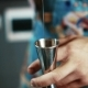 of a Barman Measures Alcohol with a Jigger. - VideoHive Item for Sale