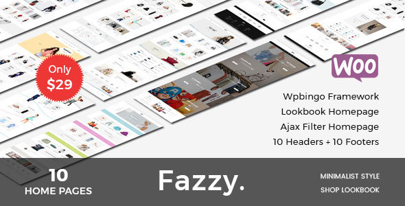 Image of Fazzy - Responsive WooCommerce Fashion Theme