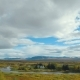 Panorama of National Icelandic Park Thingvellir From the Highest Point in Summer Day, Cloudy Sky - VideoHive Item for Sale