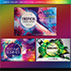 Colorful Flyers Landscape Version Bundle Vol. 1