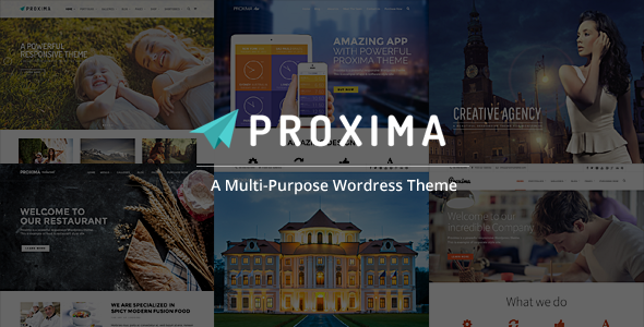 Proxima Responsive Business Multi Purpose Theme