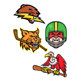 American Wildlife Sports Mascot Collection
