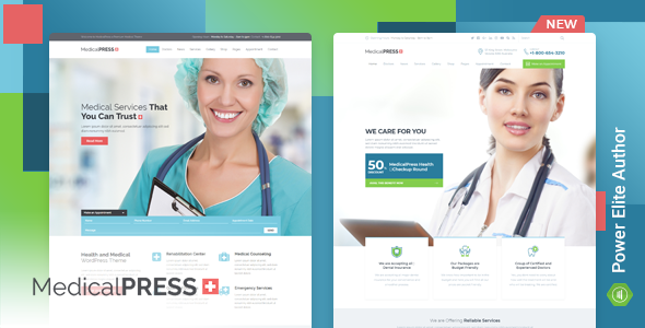 MedicalPress - Health and Medical WordPress Theme