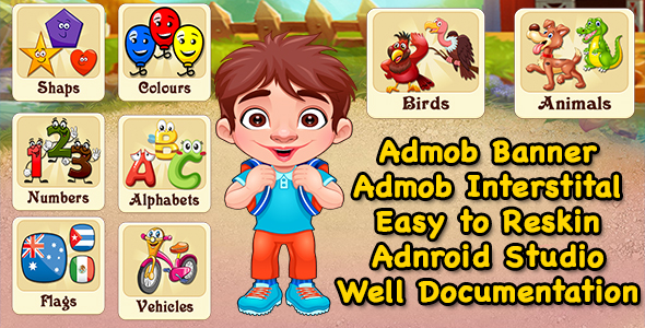 Pre School Learning Game + Best Education Game + Admob + Ready For Publish - CodeCanyon Item for Sale