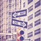 Traffic lights and One Way signs on Manhattan, NYC. - PhotoDune Item for Sale