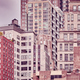 Vintage toned picture of old Manhattan buildings, NYC. - PhotoDune Item for Sale