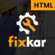 FixKar - HTML Template for Services and Repairing Business - ThemeForest Item for Sale