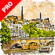 Aquarelleum - Urban Sketcher Photoshop Action - GraphicRiver Item for Sale