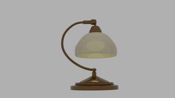 Roland Table Lamp - 3DOcean Item for Sale