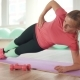 The Girl Is Doing Exercises for the Waist - VideoHive Item for Sale