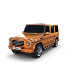Mercedes Benz G Class Orange