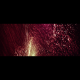 Deep VJ Rising Glitter Particles Red - VideoHive Item for Sale