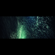 Deep VJ Rising Glitter Particles Space Blue Widescreen - VideoHive Item for Sale
