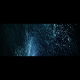 Deep VJ Rising Glitter Particles Widescreen Ice Blue - VideoHive Item for Sale
