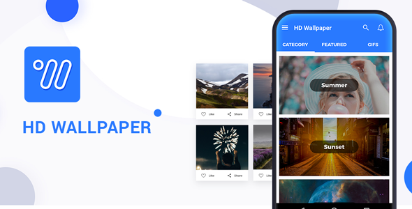HD Wallpaper Android application with Admob - CodeCanyon Item for Sale
