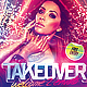 Takeover Club Flyer Template - GraphicRiver Item for Sale