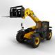 Telescopic Handler Forklift JCB 527 58
