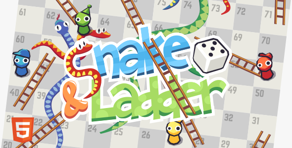 Snake and Ladder - HTML5 Board Game            Nulled