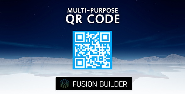 Fusion Builder Multi-Purpose QR Code Generator for Avada v5            Nulled