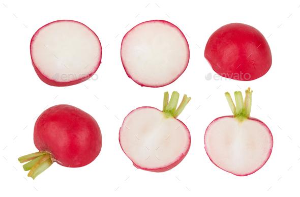 Small garden radish - Stock Photo - Images