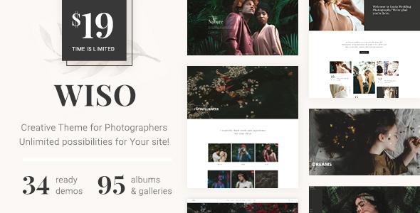 Image of WISO - Photography WordPress