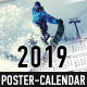 2019 Poster-Calendar Template - GraphicRiver Item for Sale