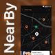 Near by Store Searching App UI Kit | NearGo