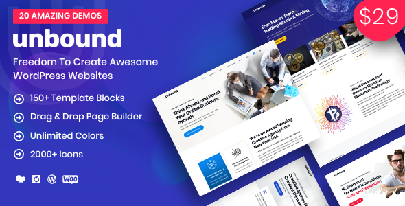 Image of Unbound - Business Agency Multipurpose Theme