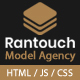 Rantouch - Model Agency, Model Portfolio, Photography, Fashion Multipurpose Creative HTML template