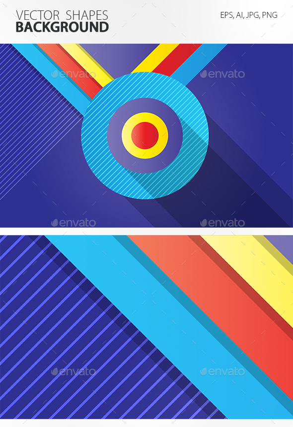 Vector Shapes Background - Tech / Futuristic Backgrounds